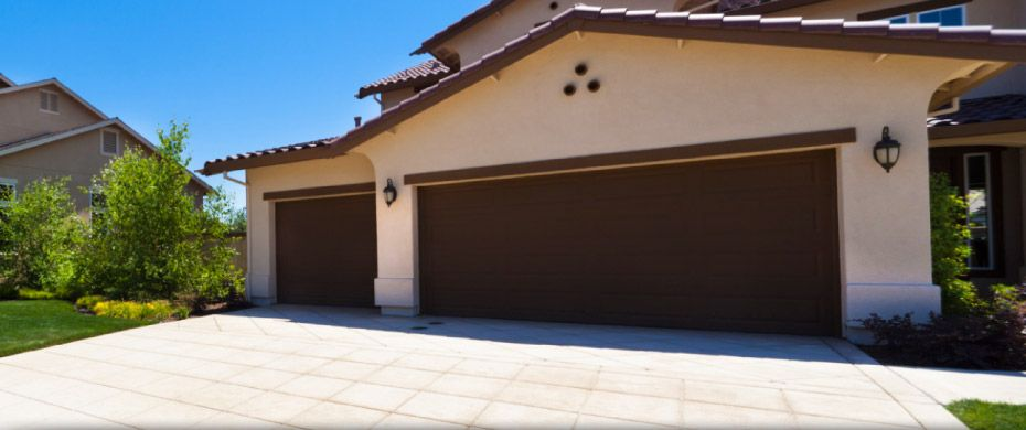 large garage door